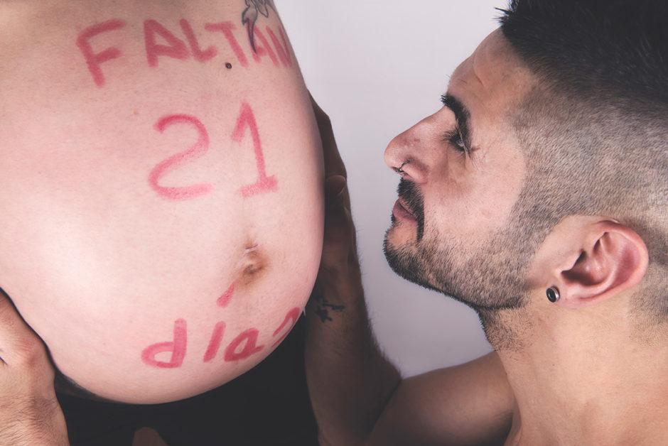 Fotografía de embarazo en Oviedo, Asturias.