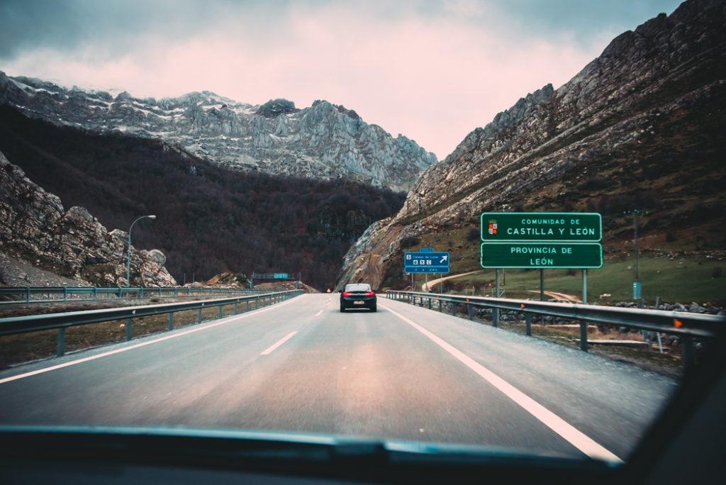 Fotografía de carretera