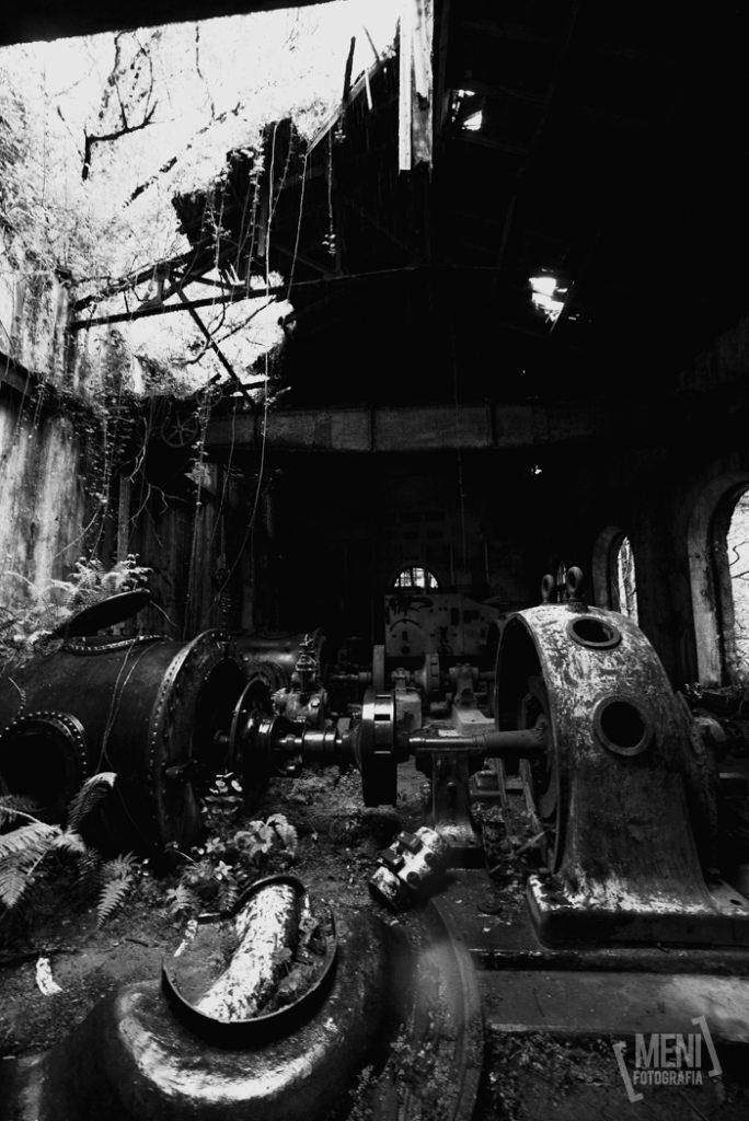 central abandonada esva